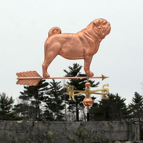 Large Pug/Dog Weathervane
