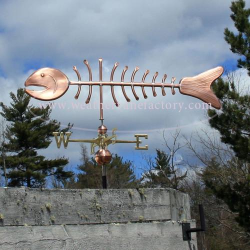 Large Bonefish Weathervane