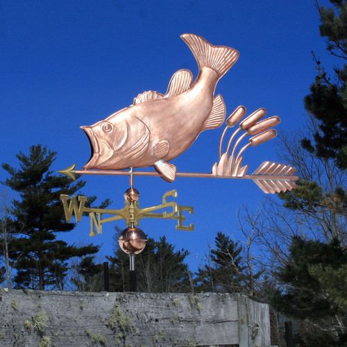 Largemouth Bass Weathervane