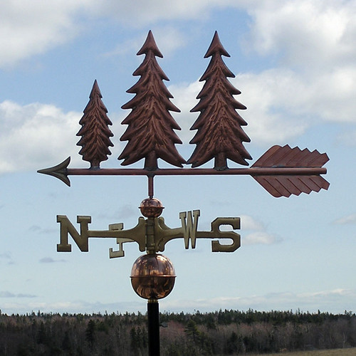 Three Trees Weathervane