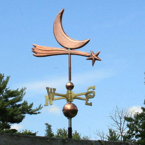 Star and Moon Weathervane