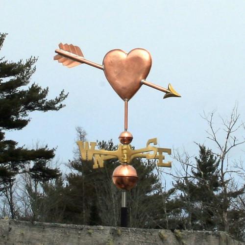 Heart Weathervane