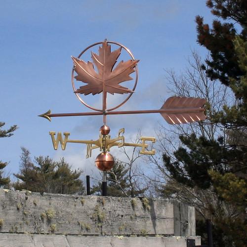 Maple Leaf Weatherane