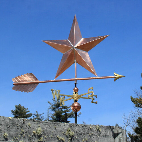 Large Star Weathervane
