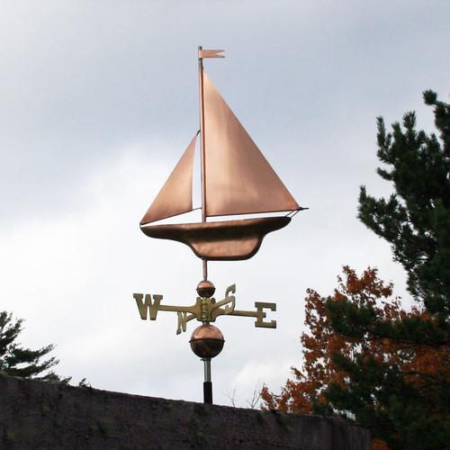 S-Sailboat Weathervane