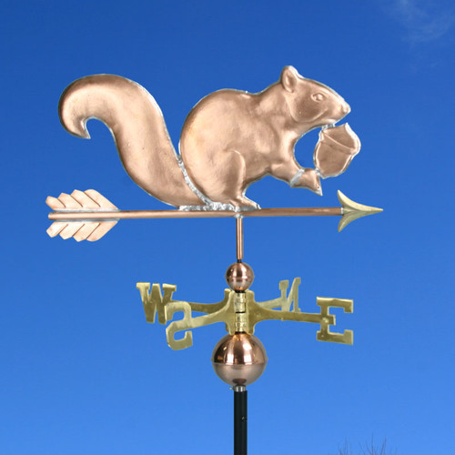Squirrel With Acorn Weathervane