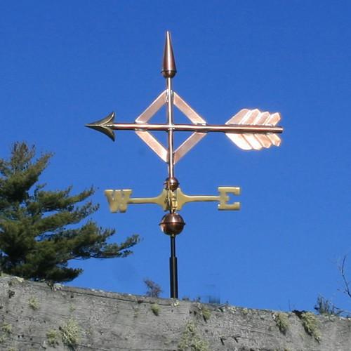Diamond Arrow Weathervane