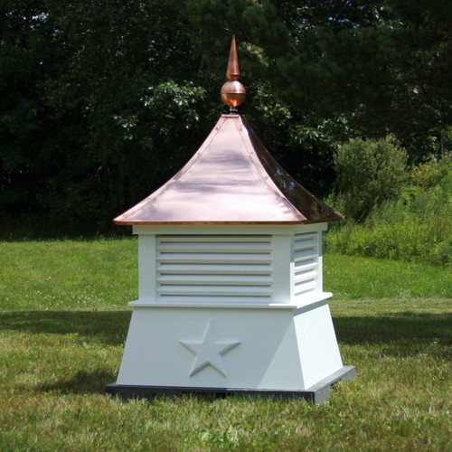 coldwater louvered cupola