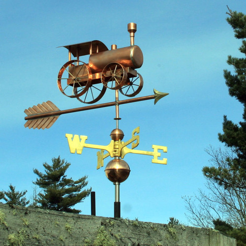 Steam Tractor Weathervane