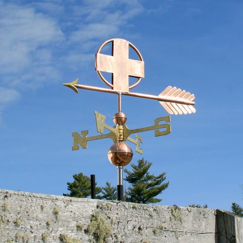 Cross Weathervane - 759