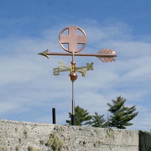 Cross Weathervane - 761
