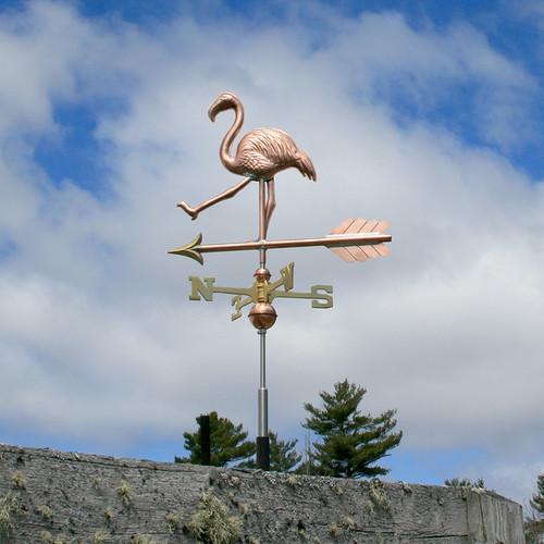 Walking Flamingo Weathervane - 764