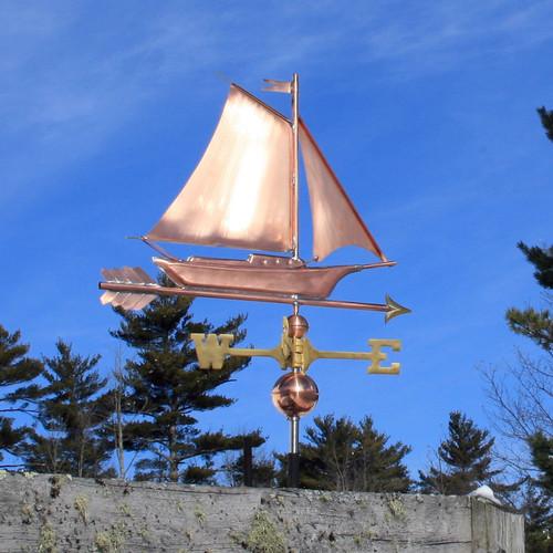 Sloop/Sailboat Weathervane - 720