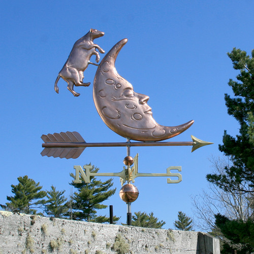 Cow Jumping Over the Moon Weathervane - 784