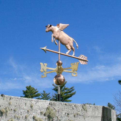 Flying Cow Weathervane - 788