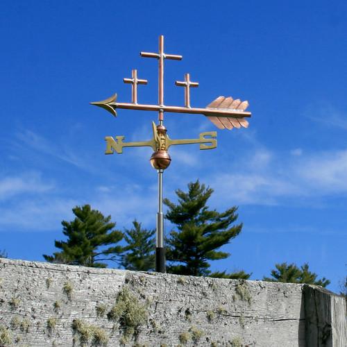 Three Crosses Weathervane - 790