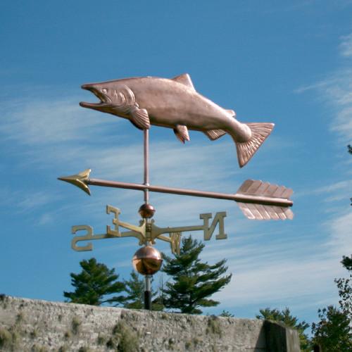 Salmon with Arrow Weathervane - 795