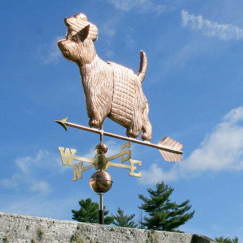 West Highland Terrier with Kilt Weathervane - 796