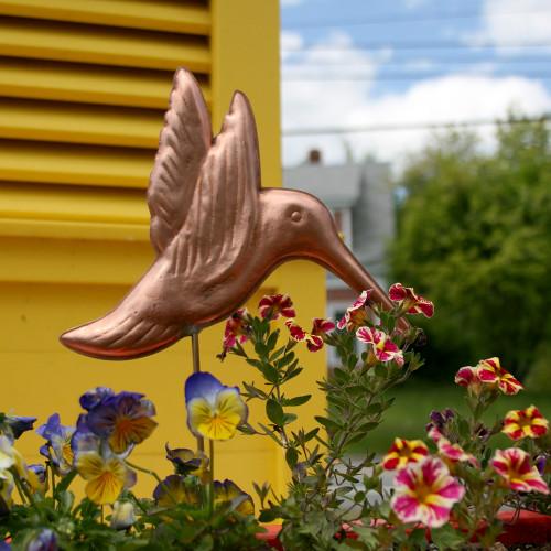 Hummingbird Garden Stake - 1001