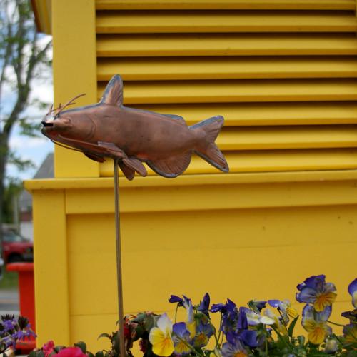 Catfish Garden Stake - 1002