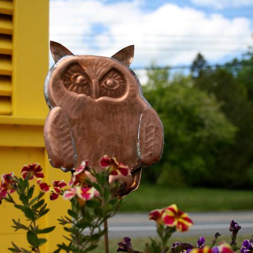 Owl Garden Stake - 1019