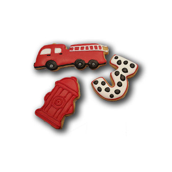 Fire Themed Custom Cookies (minimum 12)