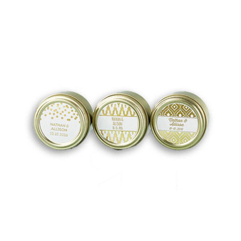 Gold tin with besomim