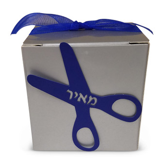 Scissors Upsherin Peckel Box (More colors available) (Assembly Required)