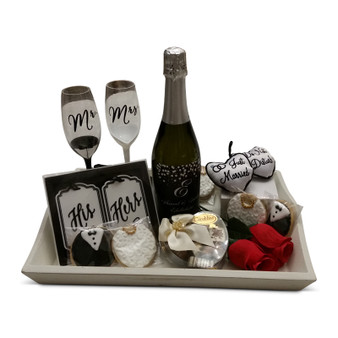 Just Married, Bride & Groom Welcome Gift