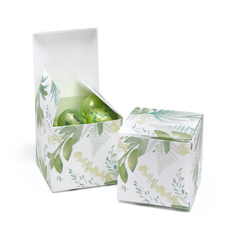 Greenery Favor Box, pack of 25