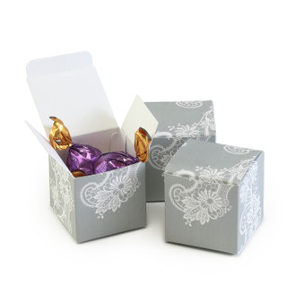 Lace Favor Box, pack of 25