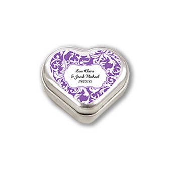 """""""Mint For You"""" Heart-Shaped Mint Tin (Available Personalized)"""