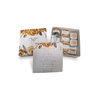 Gold & Silver Floral Welcome Package