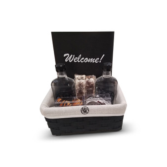 Deluxe Personalized Welcome Basket