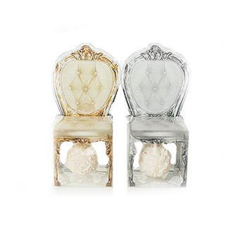 Transparent Chair Favor Boxes (Pack of 10)