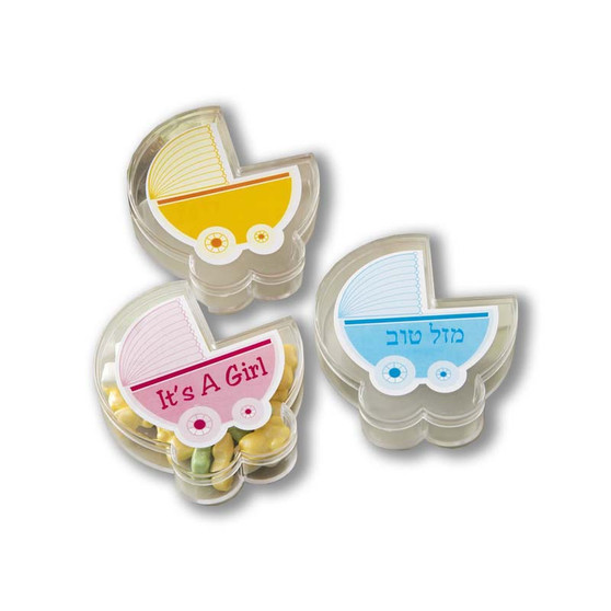 PERSONALIZED EXPRESSIONS CLEAR BABY STROLLER BOX