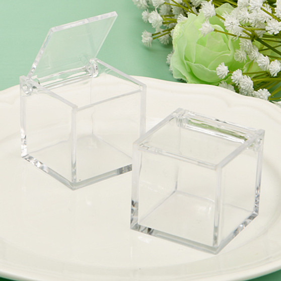 Acrylic  Box From The  Perfectly Plain Collection