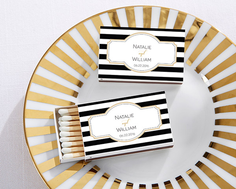 Personalized White Matchboxes - Classic