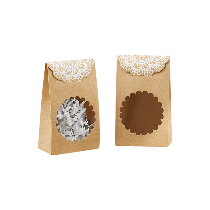 Rustic Kraft Tent Favor Box (Set of 12) (Available 7/8/17)