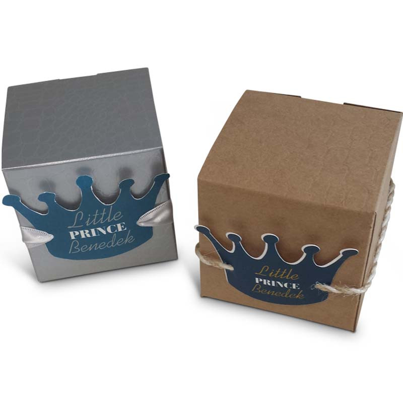 Little Prince Vachnacht Peckel Box with Crown, Colors Available
