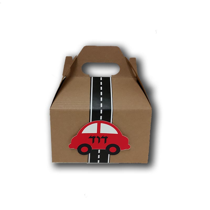 Car Upsherin Favor Box