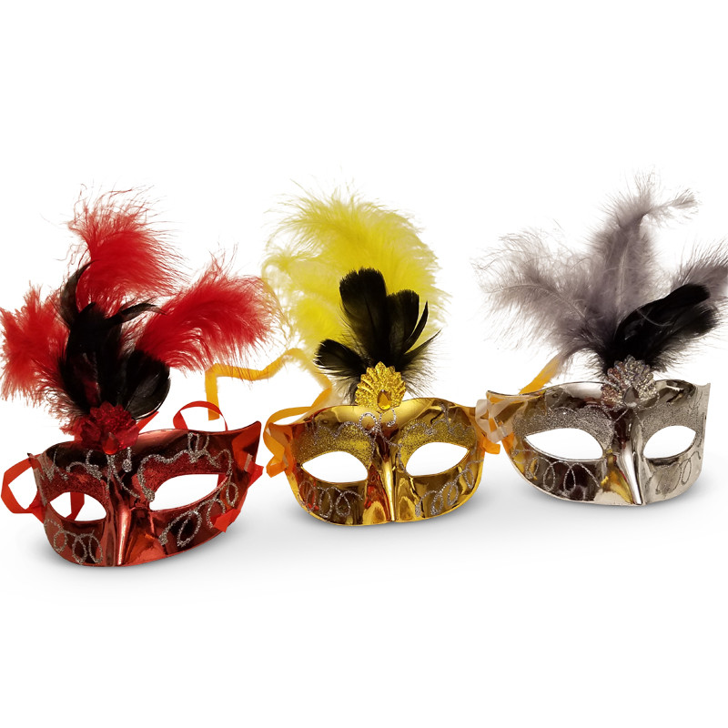 "7.5"" Wearable Mask (Perfect for you Purim tablescape)"