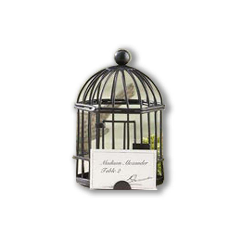 """""""Spring Song"""" Birdcage Tealight/Place Card Holder"""