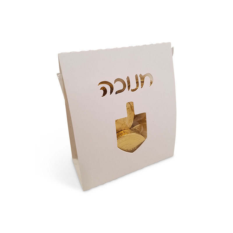 Dreidel Bag wrap, Two sizes (Available in color of your choice)