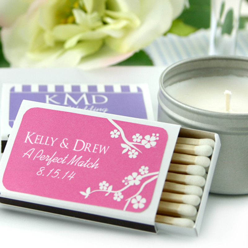 Personalized Matchboxes - Silhouette Collection (White Box)