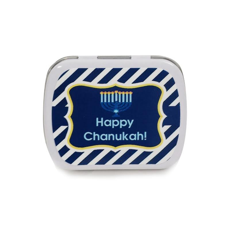 Personalized Chanukah Mint Tins