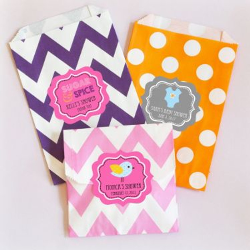 """""""Babies are Sweet"""" Personalized Goodie Bags (set of 12)"""