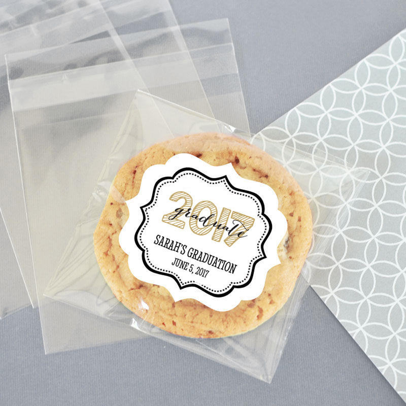 Personalized Graduation Clear Candy Bags (Set of 24)