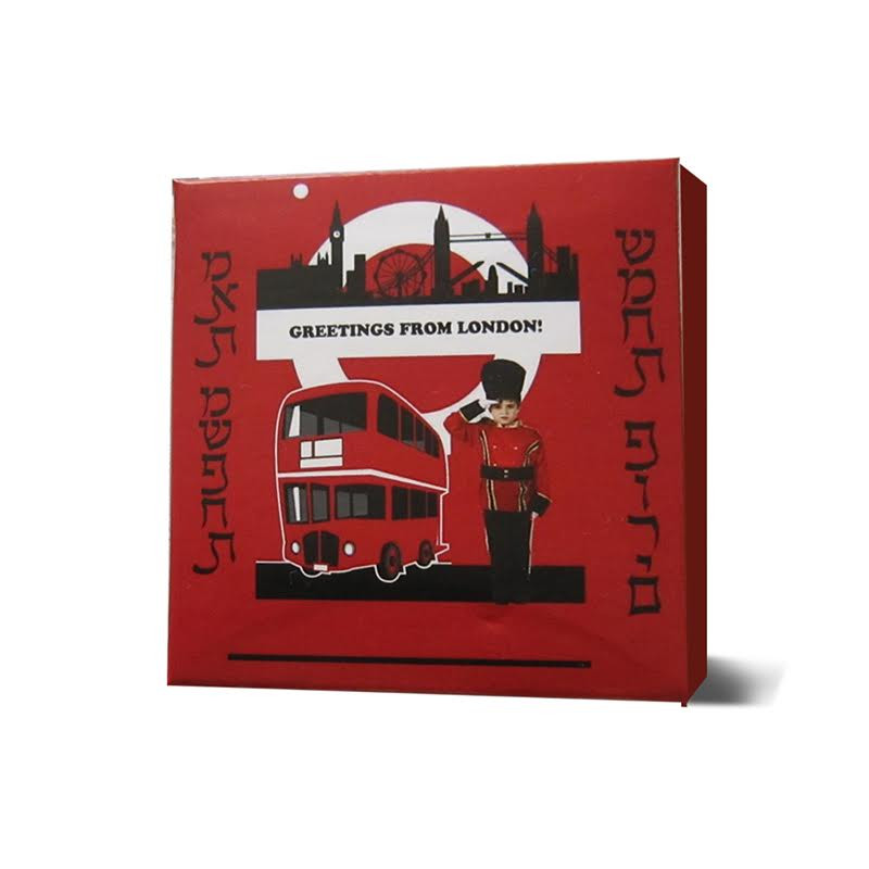 Personalized LONDON themed box, 4 sizes available