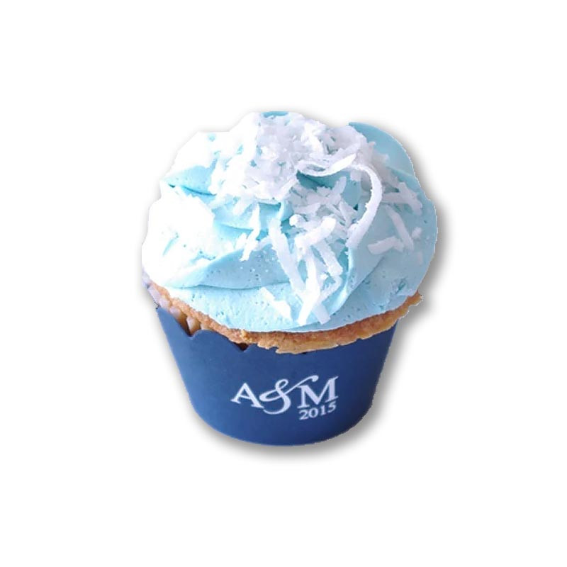 Monogram Basic Cupcake Wrap